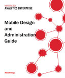 Mobile Design and Administration Guide for MicroStrategy 9 5
