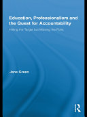 Education  Professionalism and the Quest for Accountability
