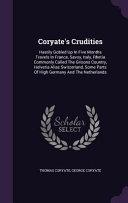 Coryate's Crudities