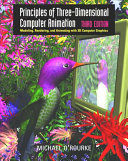 Cover of Principles of Three-dimensional Computer Animation