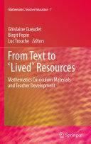 Pdf From Text to 'Lived' Resources Telecharger