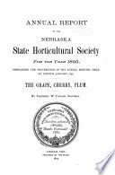 Annual Report of the Nebraska State Horticultural Society for the Year