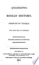 Goldsmith's Roman history, Roman history