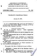 Assembly Bill