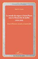 Pdf Le monde du négoce à Saint-Pierre sous la Monarchie de Juillet Telecharger
