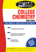 Schaum s Outline of College Chemistry  9ed