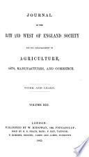 journal of the ath and west of england society