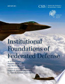 Institutional Foundations of Federated Defense Book
