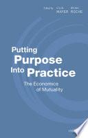 Putting Purpose Into Practice Book