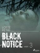 Black notice: część 3 Pdf/ePub eBook
