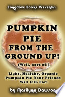 Pumpkin Pie from the Ground Up   Well  Almost