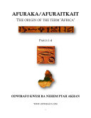 AFURAKA/AFURAITKAIT - The Origin of the term 'Africa' Pdf/ePub eBook