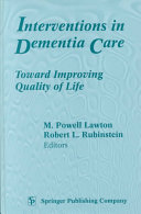 Interventions In Dementia Care