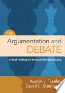 Argumentation And Debate Book
