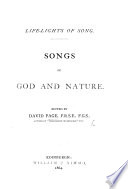 Life Lights Of Song Songs Of God And Nature Edited By D P