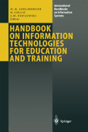 Pdf Handbook on Information Technologies for Education and Training Telecharger