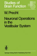 Neuronal Operations in the Vestibular System
