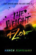 The Weight of Zero Pdf/ePub eBook