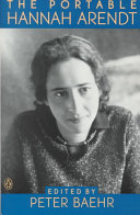 The Portable Hannah Arendt Book PDF