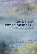 Music and Consciousness 2 Pdf/ePub eBook