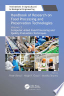 Handbook of Research on Food Processing and Preservation Technologies Book