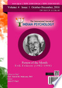 The International Journal Of Indian Psychology Volume 4 Issue 1 No 69