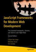 JavaScript Frameworks for Modern Web Development