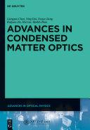 Advances in Condensed Matter Optics [Pdf/ePub] eBook