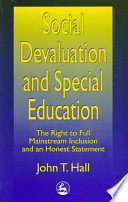 Social Devaluation and Special Education