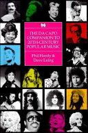 The Da Capo Companion to 20th-century Popular Music