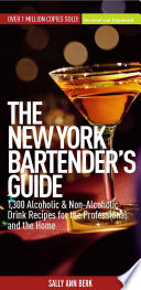 New York Bartender's Guide