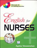 ENGLISH FOR NURSES - WITH CD