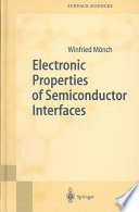 Electronic Properties of Semiconductor Interfaces Book