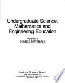 Undergraduate Science  Mathematics and Engineering Education  Source materials