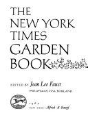 The New York Times Garden Book