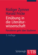 Einübung in die Literaturwissenschaft