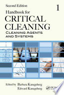 Handbook For Critical Cleaning Cleaning Agents And Systems Book PDF