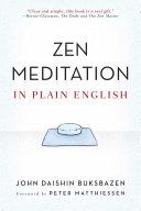 Zen Meditation in Plain English [Pdf/ePub] eBook