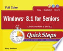 Windows 8 1 For Seniors Quicksteps