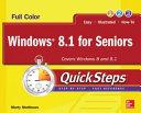 Windows 8 1 for Seniors QuickSteps