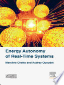 Energy Autonomy of Real Time Systems