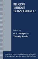 Religion without Transcendence