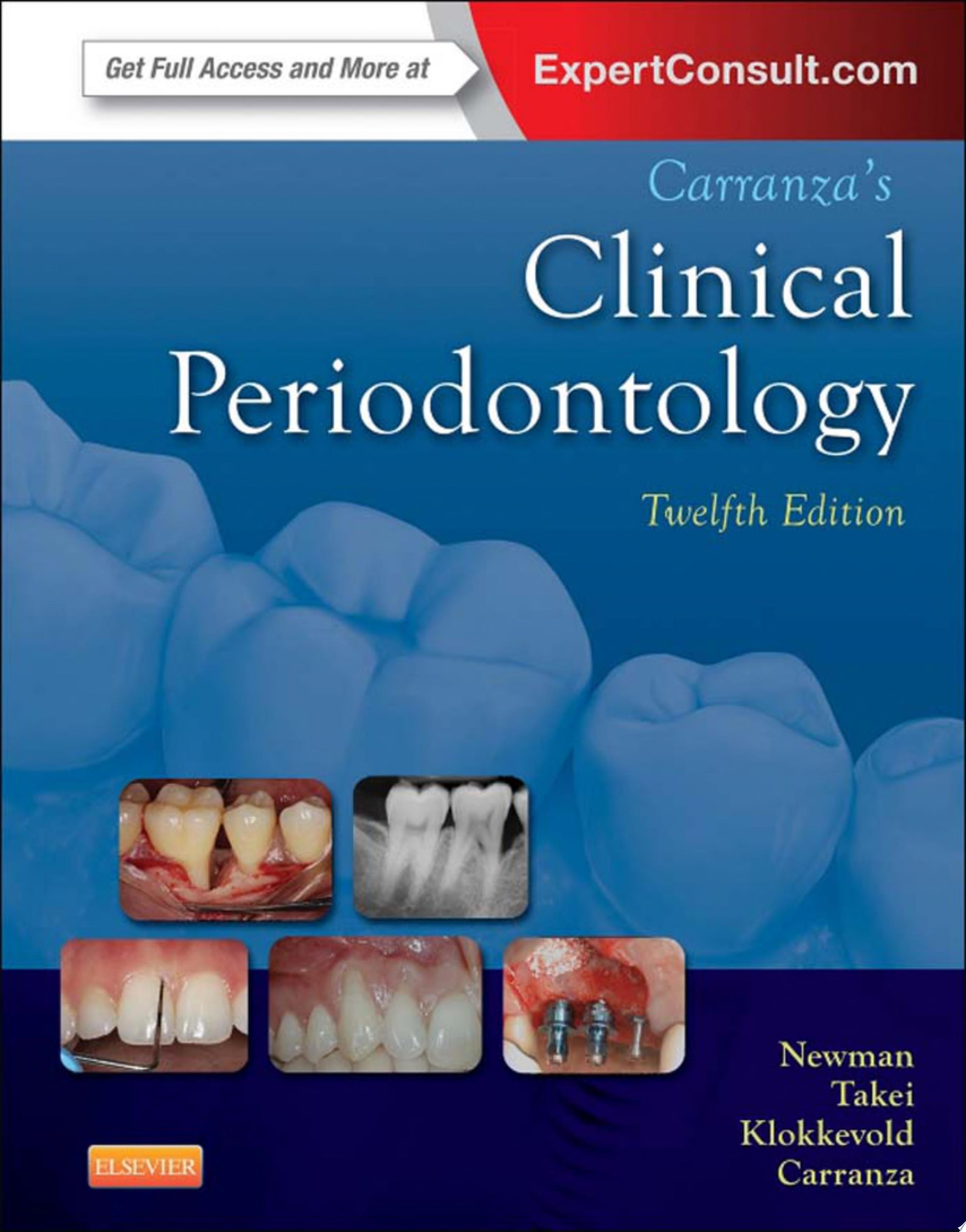 Carranza s Clinical Periodontology   E Book
