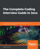 The The Complete Coding Interview Guide in Java Pdf/ePub eBook