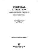Pretrial Litigation
