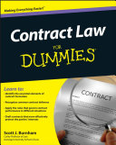 Contract Law For Dummies Pdf/ePub eBook