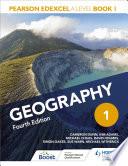 Pearson Edexcel A Level Geography Book 1 Fourth Edition