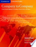 Company To Company Student S Book