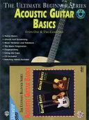 Ultimate Beginner Acoustic Guitar Basics Mega Pak Book Cd Dvd