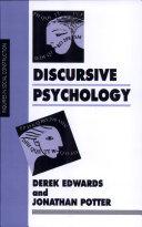 Discursive Psychology